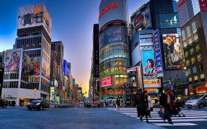 Khu trung tâm mua sắmHarajuku & Aoyama