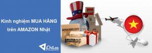 Kinh nghiệm mua hàng trên Amazon Nhật