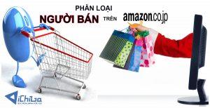 Phân loại người bán trên Amazon Nhật