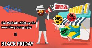 Các web uy tín mua hàng Nhật trong dịp Black Friday