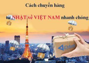 Ichiba chuyển hàng từ Nhật về Việt Nam