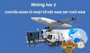 Chuyển hàng từ Nhật về Việt Nam uy tín