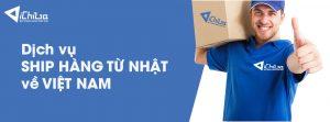 Dịch vụ ship hàng từ Nhật về Việt Nam