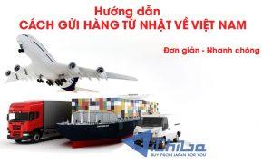 Gửi hàng từ Nhật về Việt Nam uy tín