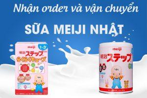 Order sữa Meiji Nhật