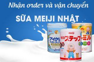 order và vận chuyển sữa meiji Nhật