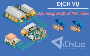 Ship hàng Nhật về Việt Nam