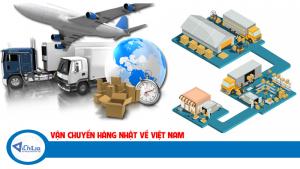 Ship hàng từ Nhật về Hồ Chí Minh