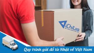 Quy trình gửi đồ từ Nhật về Việt Nam