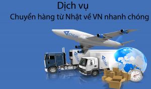 Chuyển hàng Nhật Việt bằng đường hàng không nhanh chóng
