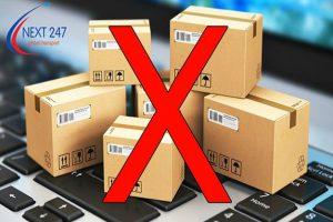 Hàng hóa không nhận vận chuyển